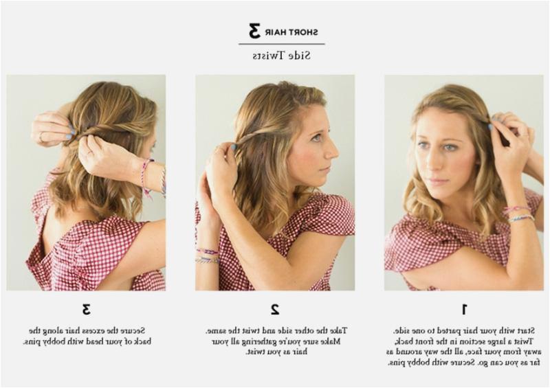 Easy Hairstyles For Medium Length Hair To Do At Home Easy Hairstyles For Short Hair To