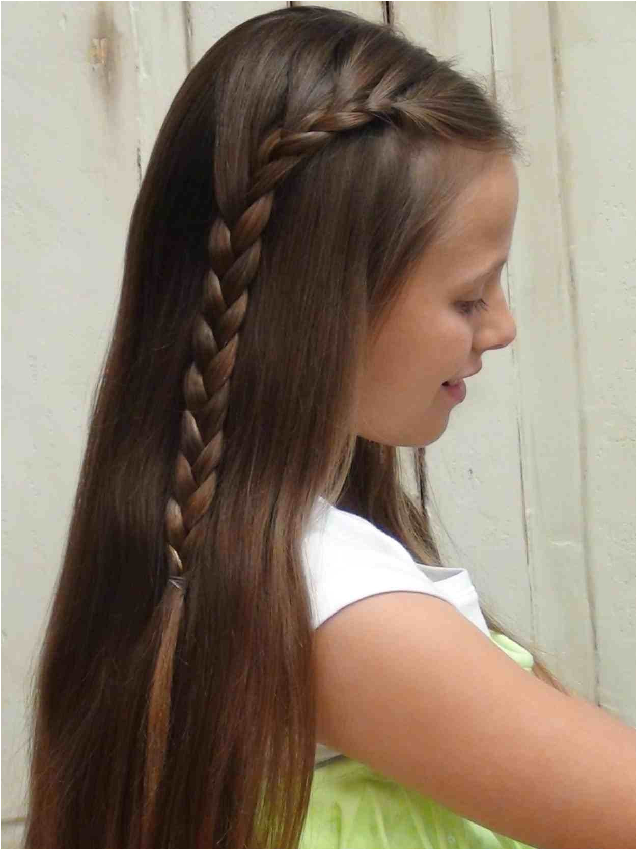 Easy Hairstyles for Short Hair Girls Unique How to French Braid Short Hair Stock Easy Do