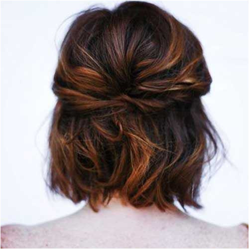 13 Awesome Easy and Quick Hairstyles for Short Hair Pics
