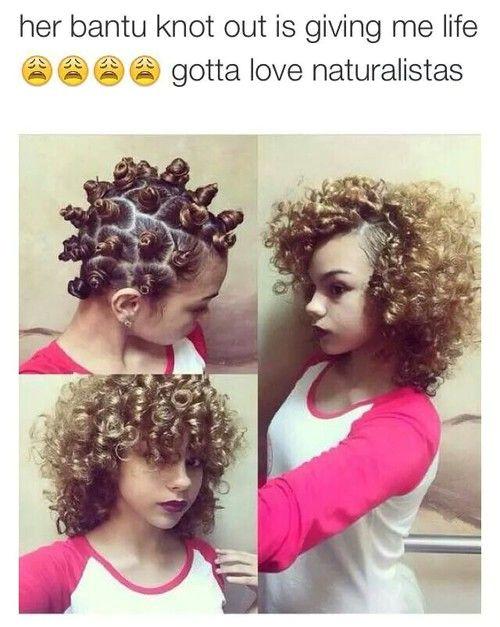 I love this Pelo Natural Short Hair Styles Natural Hair