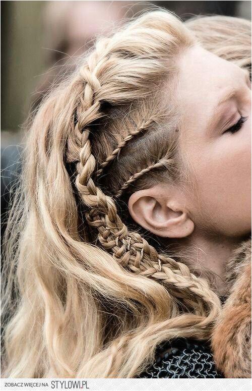 Lagertha hair More Viking Hairstyles Bohemian Hairstyles Thick Cornrows Hairstyles