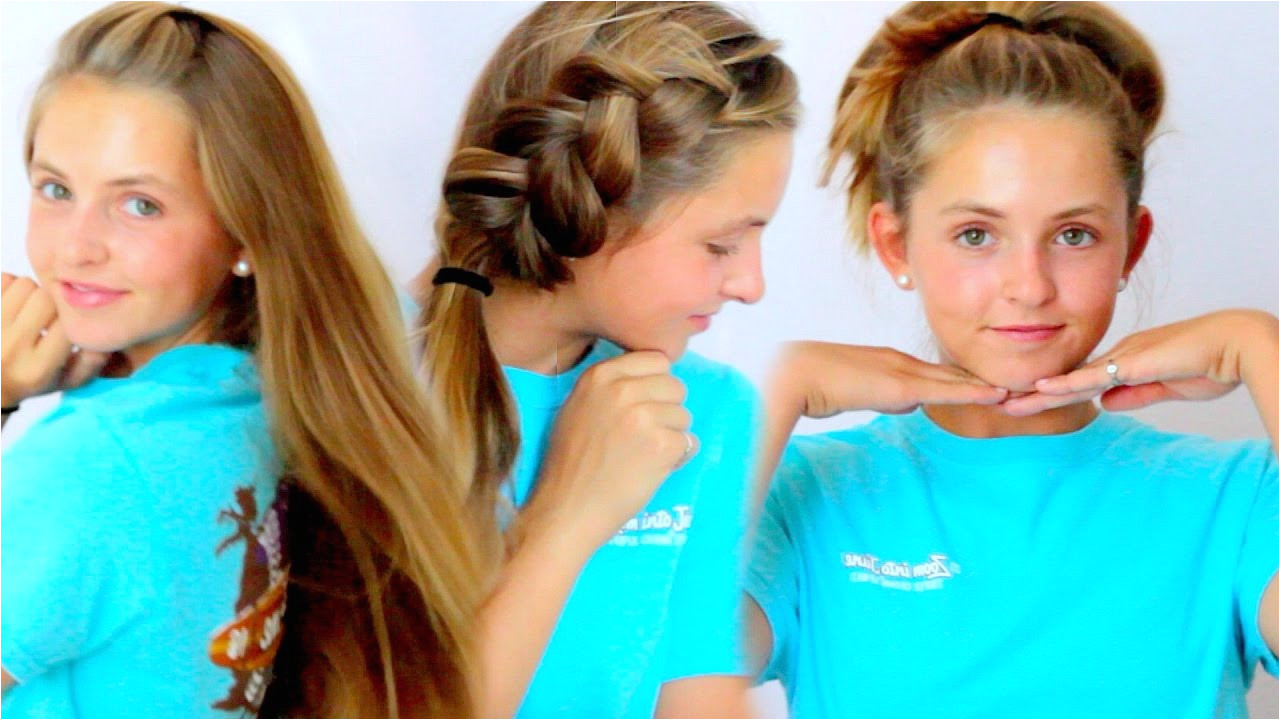 SUPER Quick & Easy NO HEAT Hairstyles Fall Everyday