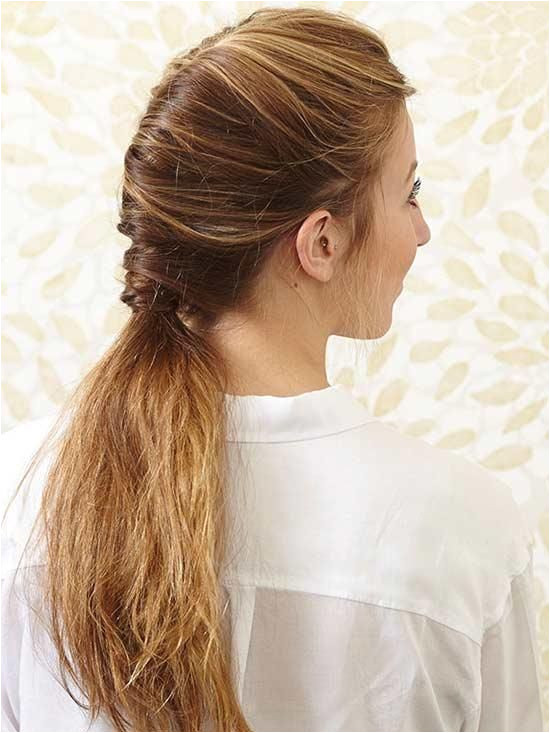Added texture and salt spray keep this French twisted ponytail from looking too proper It s the perfect casual chic style to rock a…