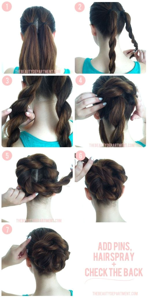 Easy to do hair for office church wedding special event fun flirty date night girls night out sassy beautiful look