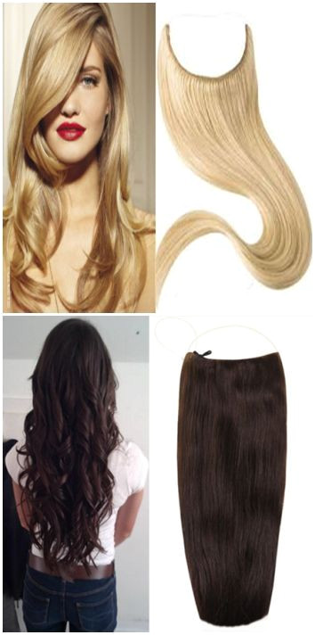 Flip in hair extensions Quick Easy Hairstyling Techniques Ideas Long Hairstyles