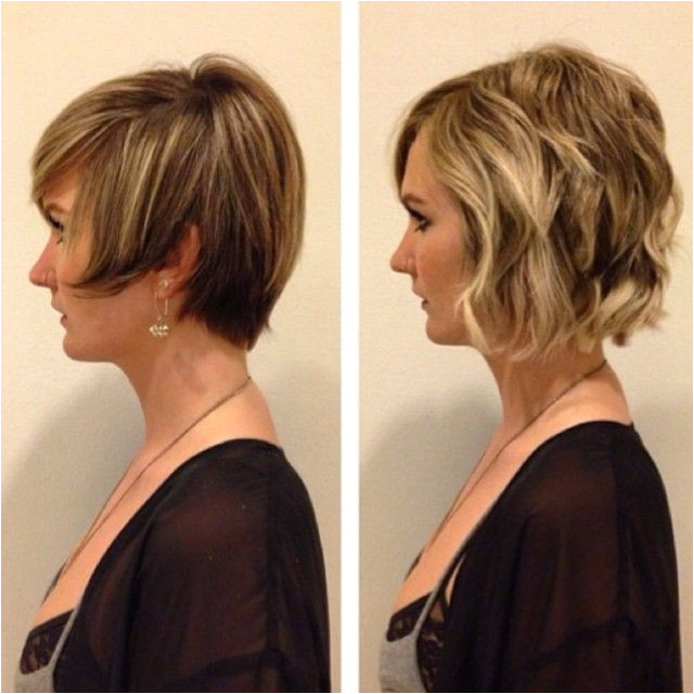 This subtle but powerful tt shows how easily you can add volume & maximize shorter styles Follow Stylist AJ yourstylistaj