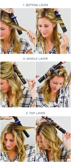 Discover how to use a curling wand to create natural looking waves in just a few simple steps with this hair tutorial