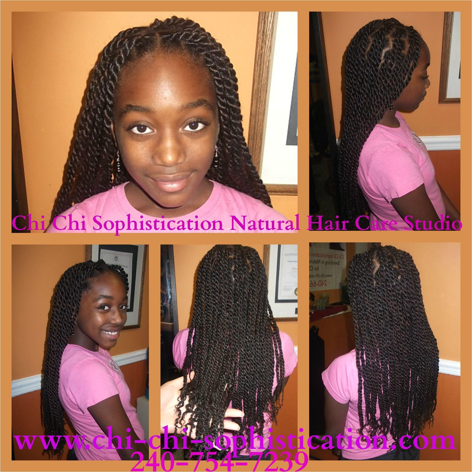 Easy Hairstyles · Havana Twist Children Hair Twist Braids Twist Outs Hair Studio Chi Chi