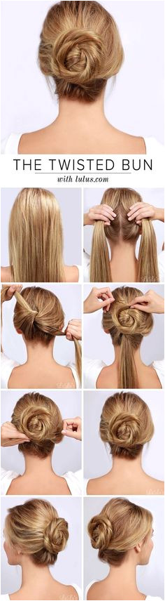 50 Simple Five Minute Hairstyles for fice Women DIY Easy Hairstyles For Work Easy