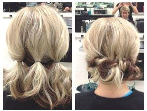 Easy hairstyles for short hair Updo hacks tips tricks tutorials perfect for prom holiday season etc Should length locks Bobs Lobs styling how to