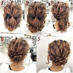 Looking for a short hair updo style for prom Look no further than these tutorials