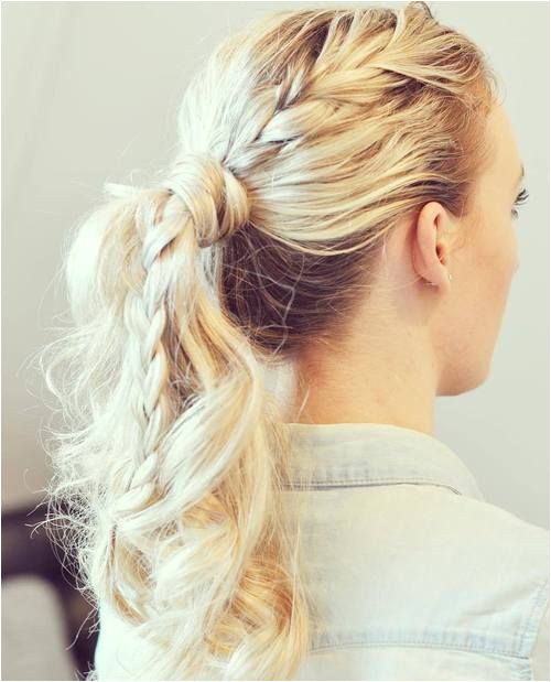 40 Super Simple Messy Ponytail Hairstyles