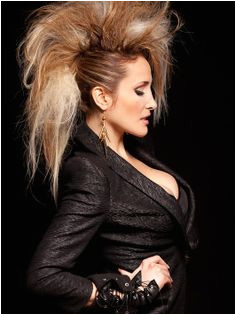hair one day i will do my hair like this Chignons Rock Rocker Hair