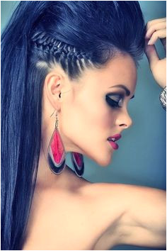 punk rock look For your punky bride or bridesmaids Straight Hairstyles Punk