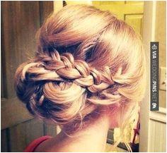 Wedding Guest Hair Braid love