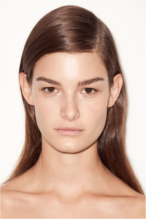 Milan Fashion Week Androgynous Hairstyles at Jil Sander SS 2015 Sleek Hairstyles Straight Hairstyles