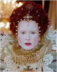 Elizabethan Hair and Make up History Cosmetics Elizabethan Fashion Elizabethan Era