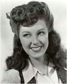 I want that hair Fay McKenzie 1940s Pin Up Hair Big Hair Rockabilly
