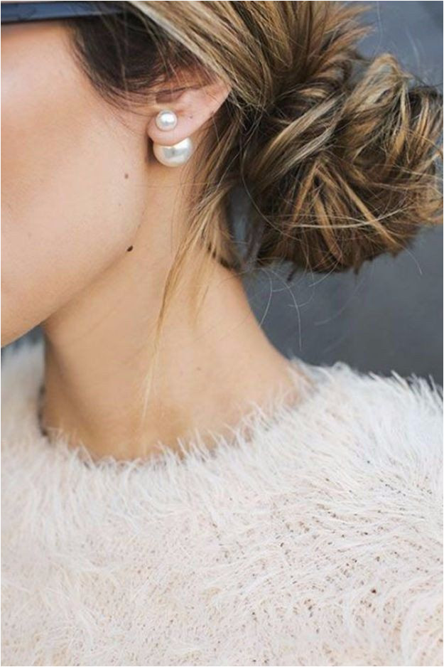 Double Back Pearl Earrings Shop Simply Me Boutique Shop SMB – Simply Me Boutique