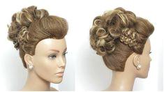 Trendy Mohawk Updo Tutorial For Long Hair