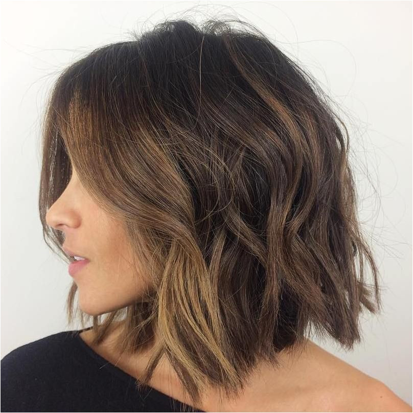 Everyday Hairstyles for Thick and Curly Hair 60 Messy Bob Hairstyles for Your Trendy Casual Looks
