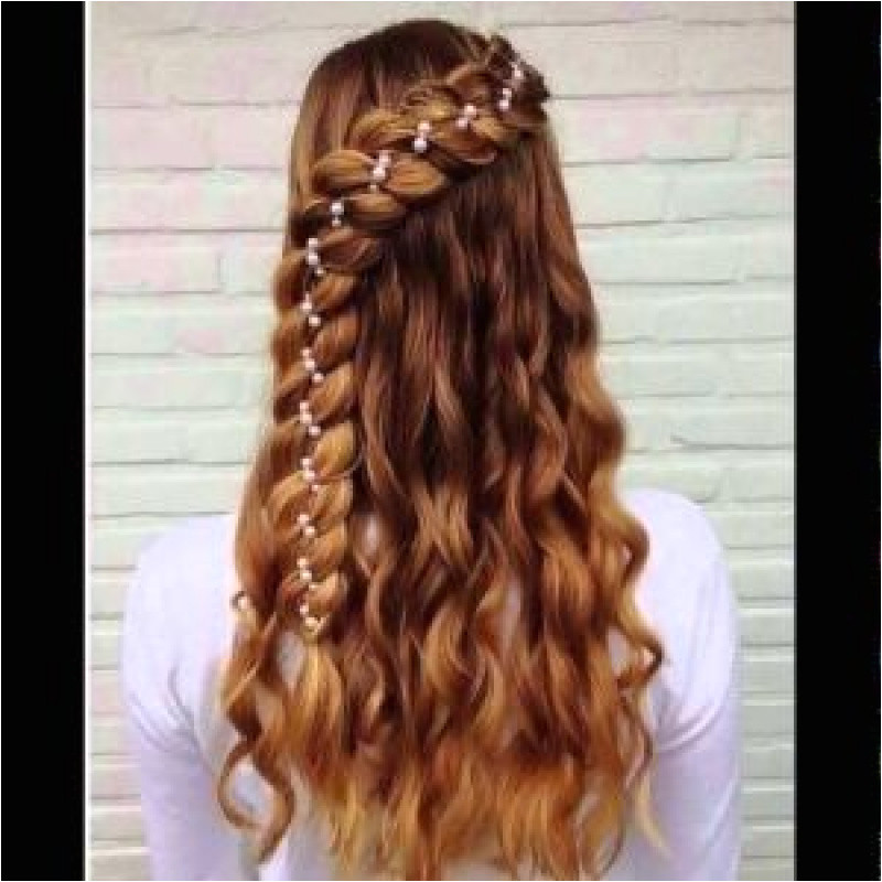 Easy and Cute Everyday Hairstyles Easy Do It Yourself Hairstyles Elegant Lehenga Hairstyle 0d Good Do