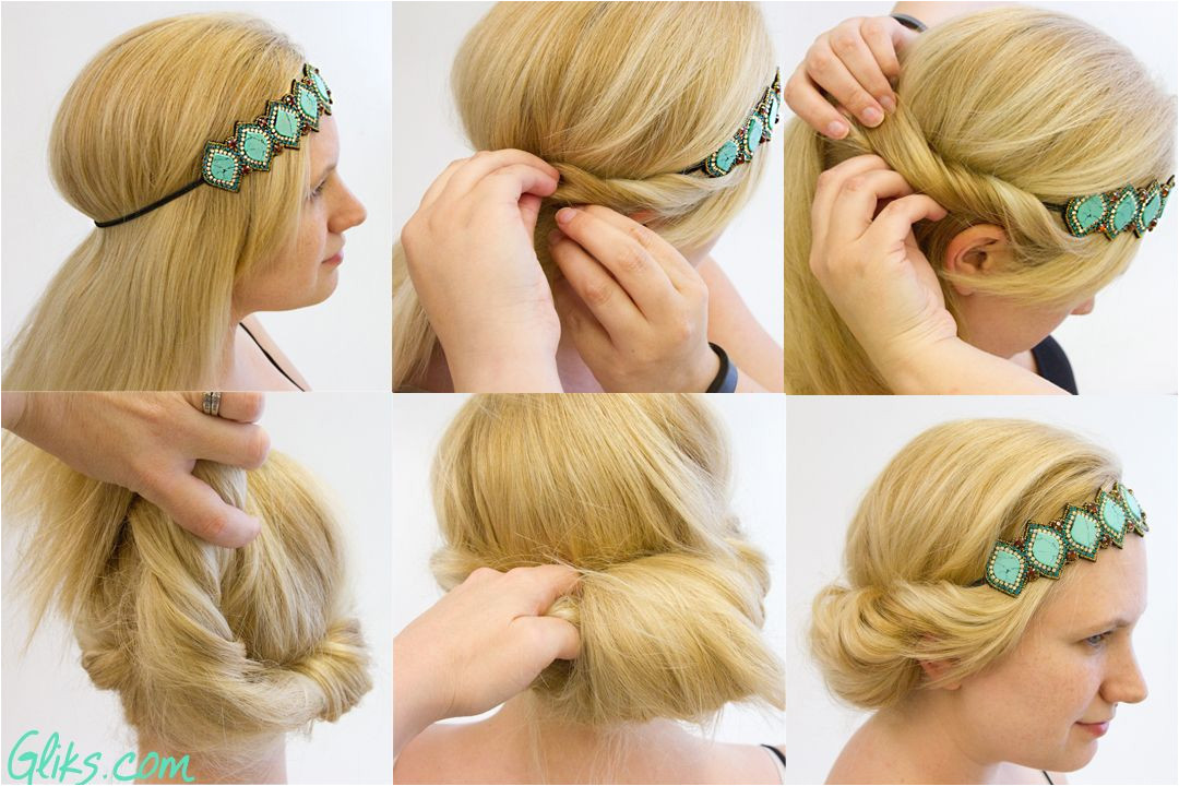 Everyday Hairstyles with Headbands 7 Cute Ways to Wear A Headband Z Fashion Blog Pinterest