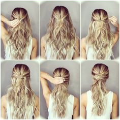 Step by step hairstyles for long hair Page 18 of 29 Hairstyle Monkey Step By Step