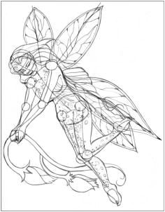 how to draw realistic fairies draw a realistic fairy step 7 Fairy Drawings Mermaid