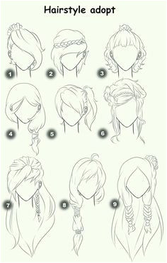 Hairstyle Adopt text woman girl hairstyles How to Draw Manga