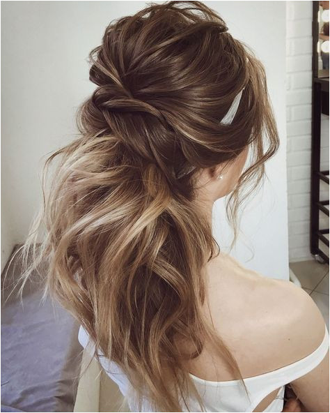 Gorgeous Ponytail Hairstyle Ideas That Will Leave You In FAB ponytail wedding hairstyles weddinghair wedding hairstyles ponytail bridehair