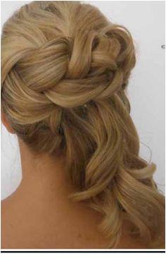 Wedding updo with soft braid by Heidi at powder Room