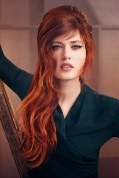 Red Brown Hair Color and Models