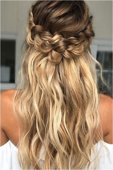 36 Braided Wedding Hair Ideas You Will Love ❤ See more