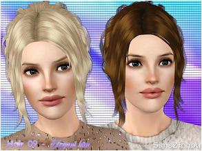 Hair 09 Elegant bun