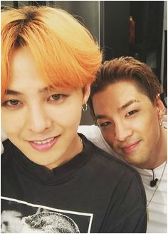 G Dragon and Taeyang of BIGBANG Big Bang Kpop Bang Bang Winwin
