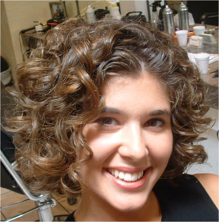 Image result for stacked spiral perm on short hair · Short Curly HairstylesHairstyles