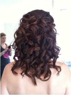 ghd curls with pieces pinned in Ghd Bridesmaid Hair Bridesmaids