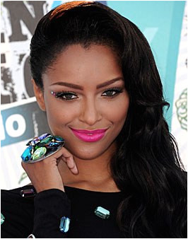Hot lips Hells yeah we say With a bright lookatme color like Katerina Graham s a clean