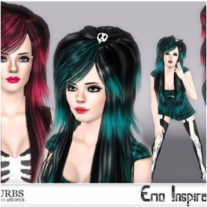 Gta 4 Hairstyles Download Hair Set Emo Inspiration by Colores Urbanos Sims 3 Downloads Cc