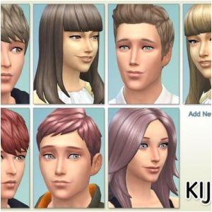 Gta 4 Hairstyles Download Kijiko New Hair Colors • Sims 4 Downloads Sims 4 Cc
