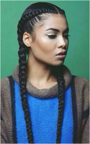 french braids tight long thin x Workout Hairstyles Bad Hairstyles Cornrows Pigtail