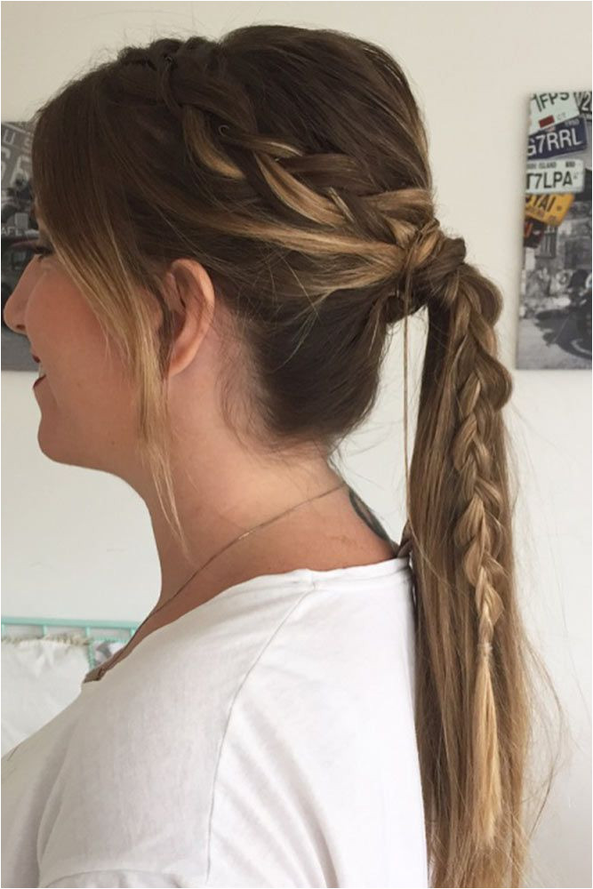 Wear These 36 Sporty Ponytail Hairstyles to the Gym Hairstyle Pinterest