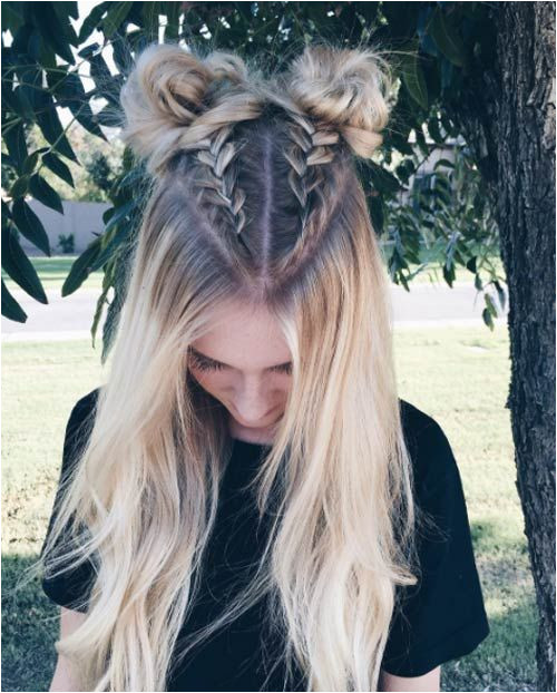 Half up boxer braid buns Tap the Link Now to Shop Hair and Beauty Products line at Great Savings and Free Shipping