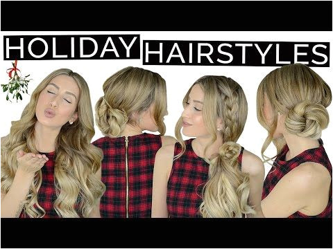 4 Drop Dead Gorgeous Holiday Hairstyles
