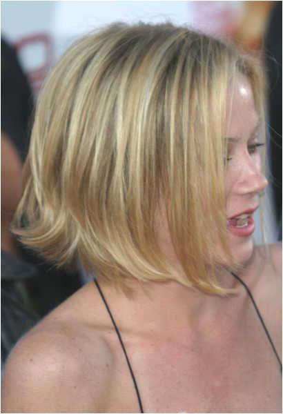 Christina Applegate haircut II Cabelo Bobs Loiro Melhores Cortes De Cabelo Bob