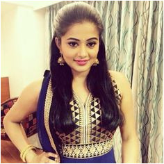 South Indian puffed hairstyle for round face Anarkali Dress Indiana Indian Braids Hair