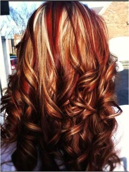 White Highlights Caramel Highlights Copper Highlights Brown Hair Blonde Highlights With Lowlights