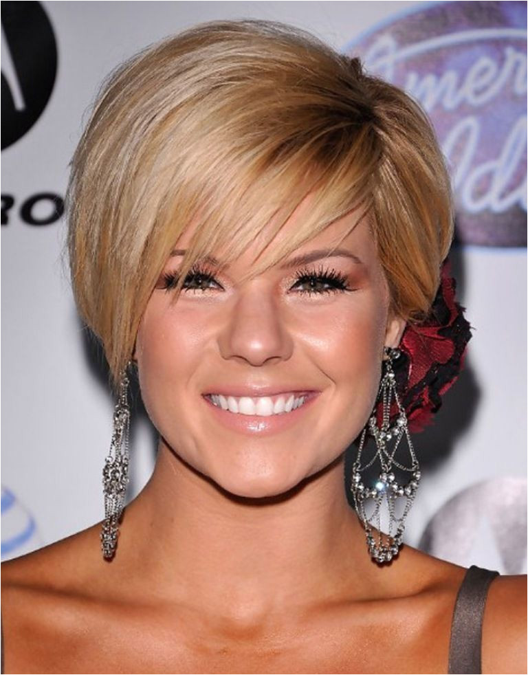 2014 Short Hair Trends for Round Faces Nice Popular Short