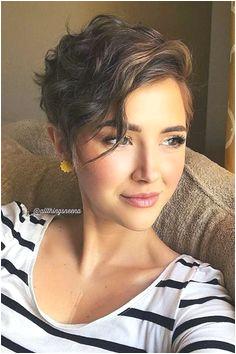 Pixie Hair Cuts For Wavy Hair pixiehairstyles pixiecut shorthair wavyhair brownhair ShortCurlyHairstyles